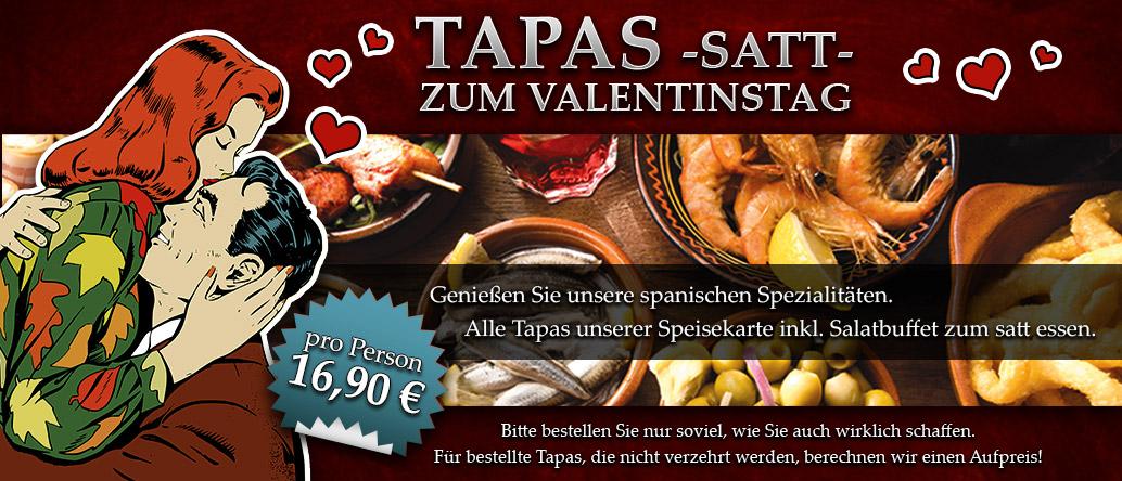 Valentinstag Tapas satt