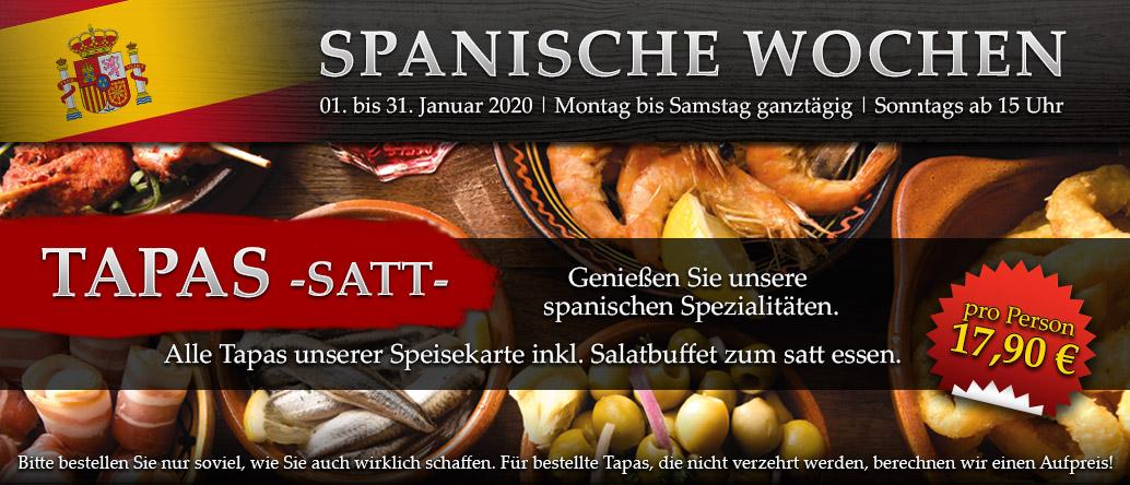Spanische Wochen Januar 2020